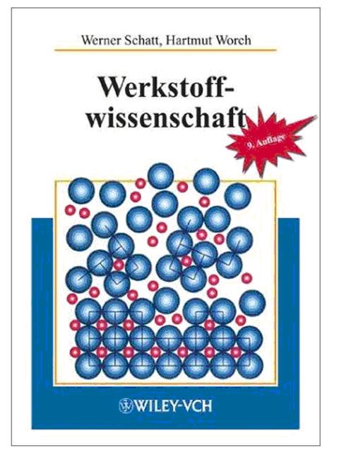 Cover des Lehrbuchs Werkstoffwissenschaft