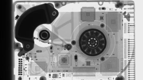 Inspektionsbild Festplatte