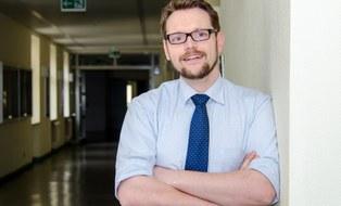 Portraitbild von Marco Zichner, Statbsstelle Transfer am ILK