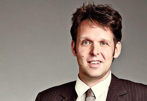 Portraitbild von Dr. Robert Böhm, Leiter Materialmodelle am ILK