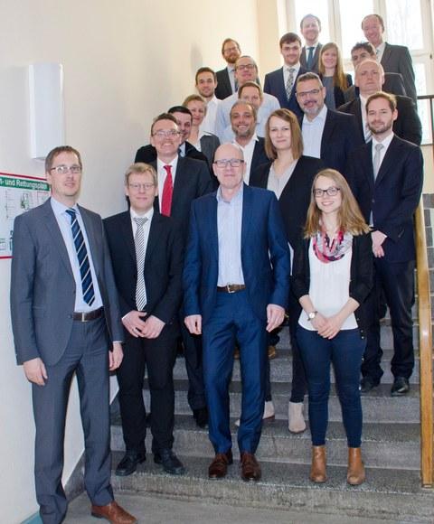 Leichtbau-Experten aus Wissenschaft und Wirtschaft trafen sich zum ersten Runden Tisch am Institut für Leichtbau und Kunststofftechnik der TU Dresden