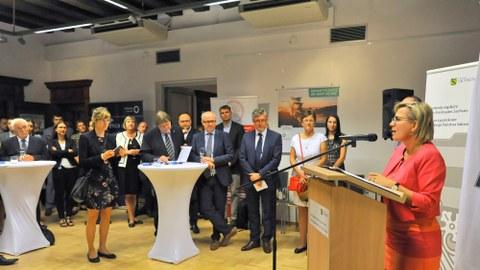 Eröffnung des 2. Sächsisch-Polnischen Innovationstages