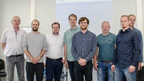 Das Team des Projektes XeroPul