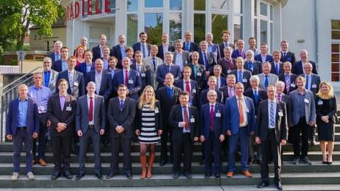 Die Teilnehmer des Rolls-Royce Research Partner Seminars