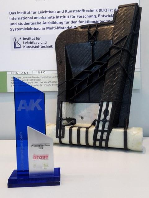 AVK-Preis und FuPro-Demonstratorbauteil auf der Composites Europe 2019