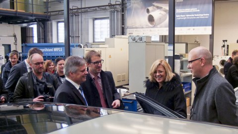 Besuch der EU-Kommissarin Corina Cretu