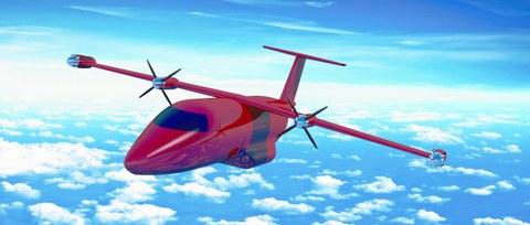 Das Flugzeugkonzept Xargo des studentischen Teams des Lehrstuhls für Luftfahrzeugtechnik der Technischen Universität Dresden als Entwurf eines innovativen Zubringerflugzeugs für das Jahr 2025