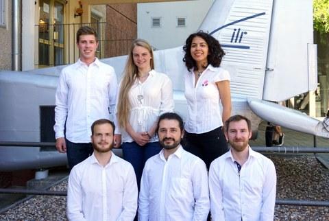 Das studentische Team der Technischen Universität Dresden