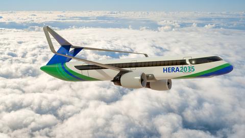Das Flugzeugkonzept HeRA des studentischen Teams der Professur für Luftfahrzeugtechnik der Technischen Universität Dresden als Entwurf eines innovativen wasserstoffbetriebenen Kurz- bis Mittelstreckenflugzeugs für das Jahr 2035