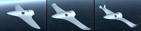 Entwurf eine morphenden Flugzeugs der NASA