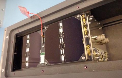 SOMP2 in der Auswurfbox der NASA/NanoRacks.jpg