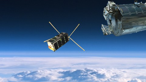 SOMP2 verlässt die Raumstation