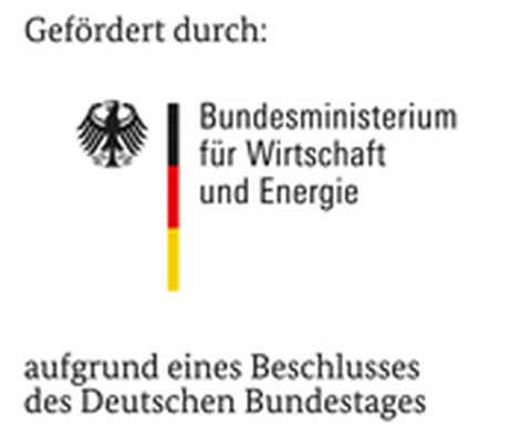 gefördert durch das Bundesministerium für Wirtschaft und Energie aufgrund eines Beschlusses des deutschen Bundestages