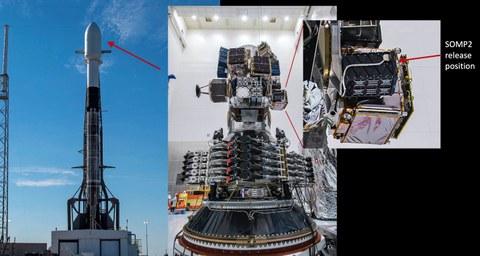 SOMP2b Position in Falcon 9