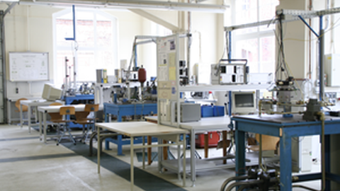 View of the Testing Lab – Valve Test Rigs
