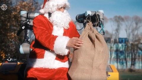 SNIFFBOT rettet Weihnachtsmann