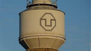 Mollier-Bau Wasserturmbehaelter mit Logo