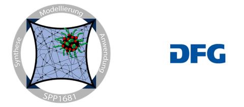 Logo von SPP1681 und DFG nebeneinander