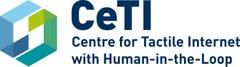 Logo von CetI, einem Exzellenzcluster der TU Dresden - Zentrum für taktiles Internet