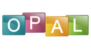 Logo der Lernplattform OPAL