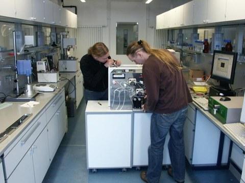 Online Flow-Cytometrie