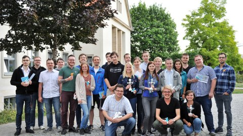 Gruppenbild - 99€ Bioreaktor-Wettbewerb