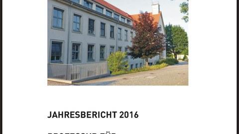 Titelbild Tätigkeitsbericht 2016