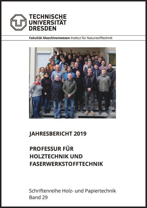 Titelbild Tätigkeitsbericht 2019