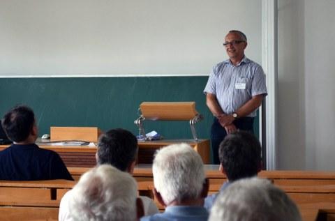 Begrüßung durch Prof. Majschak