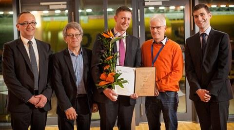 Preisverleihung der Otto Hänsel Stiftung