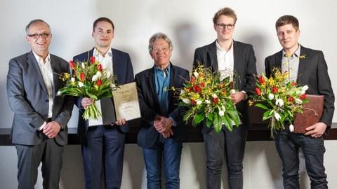 Preisträger des Otto-Hänsel-Preises 2018