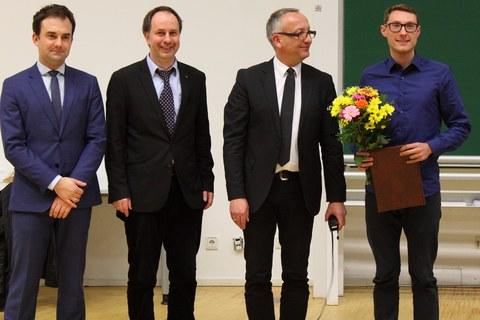 Verleihung des Teekanne Preises 2017