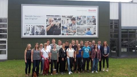 Studentenexkursion Stuttgart Juni 2018