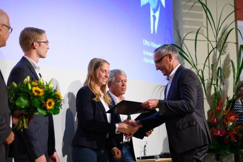 Preisverleihung Otto-Hänsel-Stiftung 2019