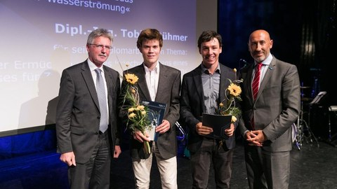 Franz-Stolze-Preis for Bastian Löhrer