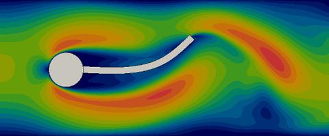 Struktur-Strömung-Kopplung