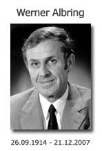 Werner Albring, 26.09.1914 - 21.12.2007