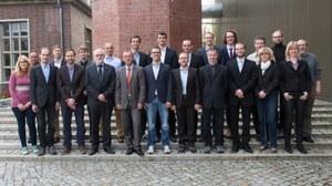 Gruppenbild des Lehrstuhls