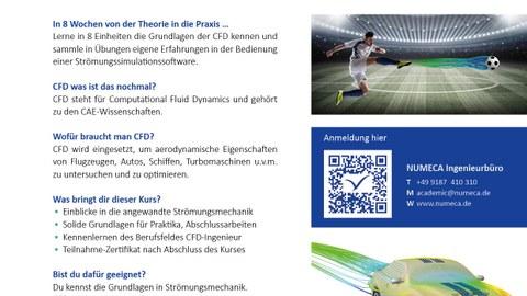 Flyer zum CFD-Online Kurs