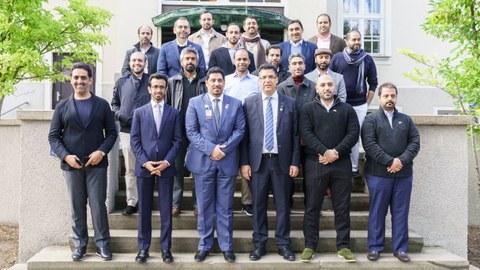 Delegation aus Katar