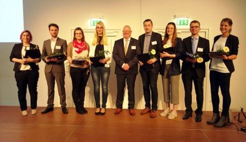 Beste Absolventen der Textil-Hochschulen