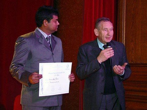 Théophile Legrand International Award For Textile Innovation 2010