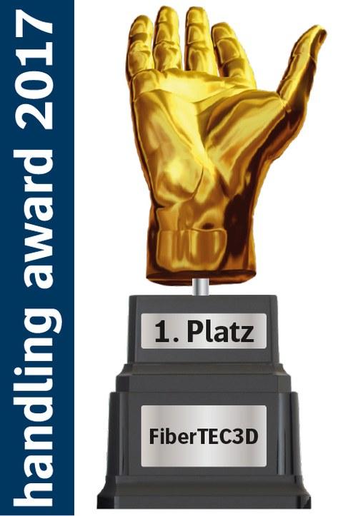 Logo handling award