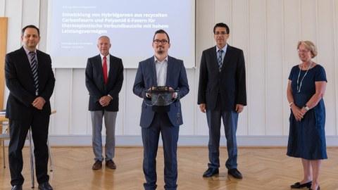 Prüfungskommission mit Herrn Dr. Hengstermann zur Promotionsverteidigung