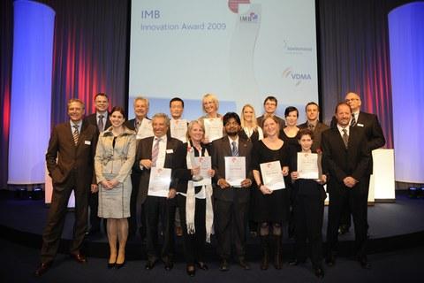 Gewinner der IMB Innovation Awards
