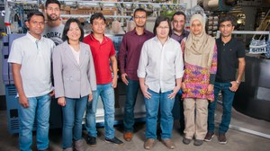 Mitarbeiter und Studenten vom ITM