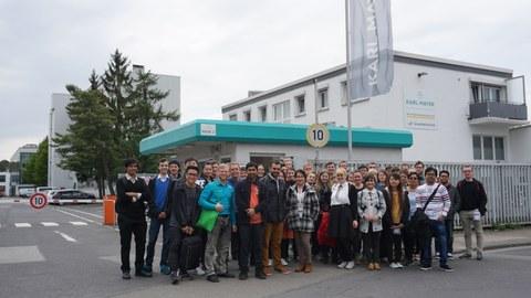 Studentenexkursion 2017