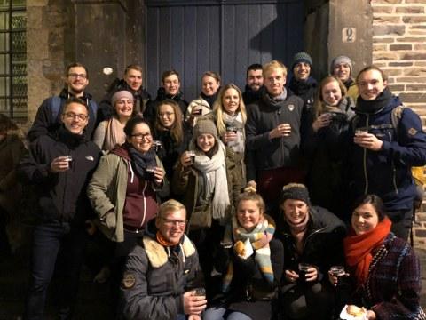 Studentenexkursion nach Aachen zur ADD-ITC