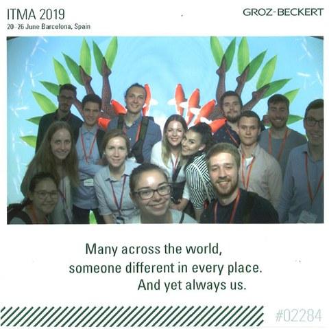 Studentenexkursion zur ITMA 2019