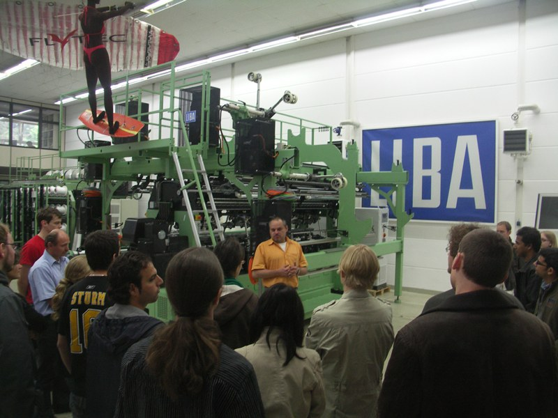 Studentenexkursion 2010 — Institut für Textilmaschinen und Textile ...